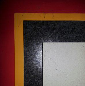 rood oranje zwart grijs